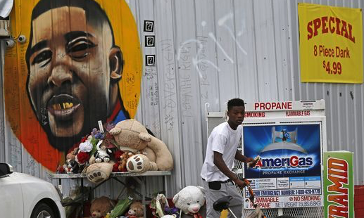No charges in case of Alton Sterling, black man fatally shot by white Louisiana officers