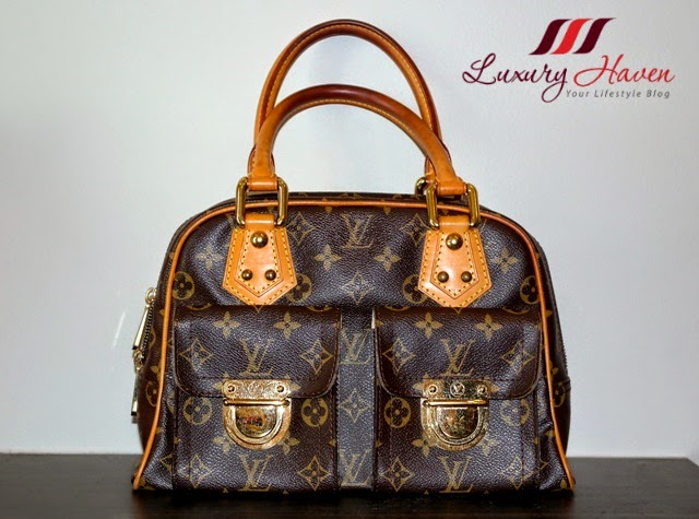 louis vuitton monogram manhattan review