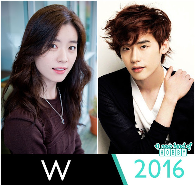 W Upcoming Korean Drama 2016 - Lee Jong Suk & Han Hyo Joo
