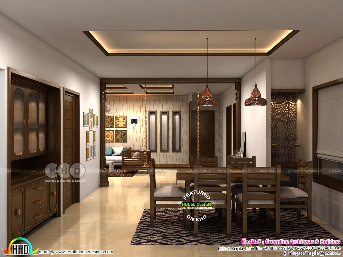 Modern interior designs of 2018 - Kerala home design and ...