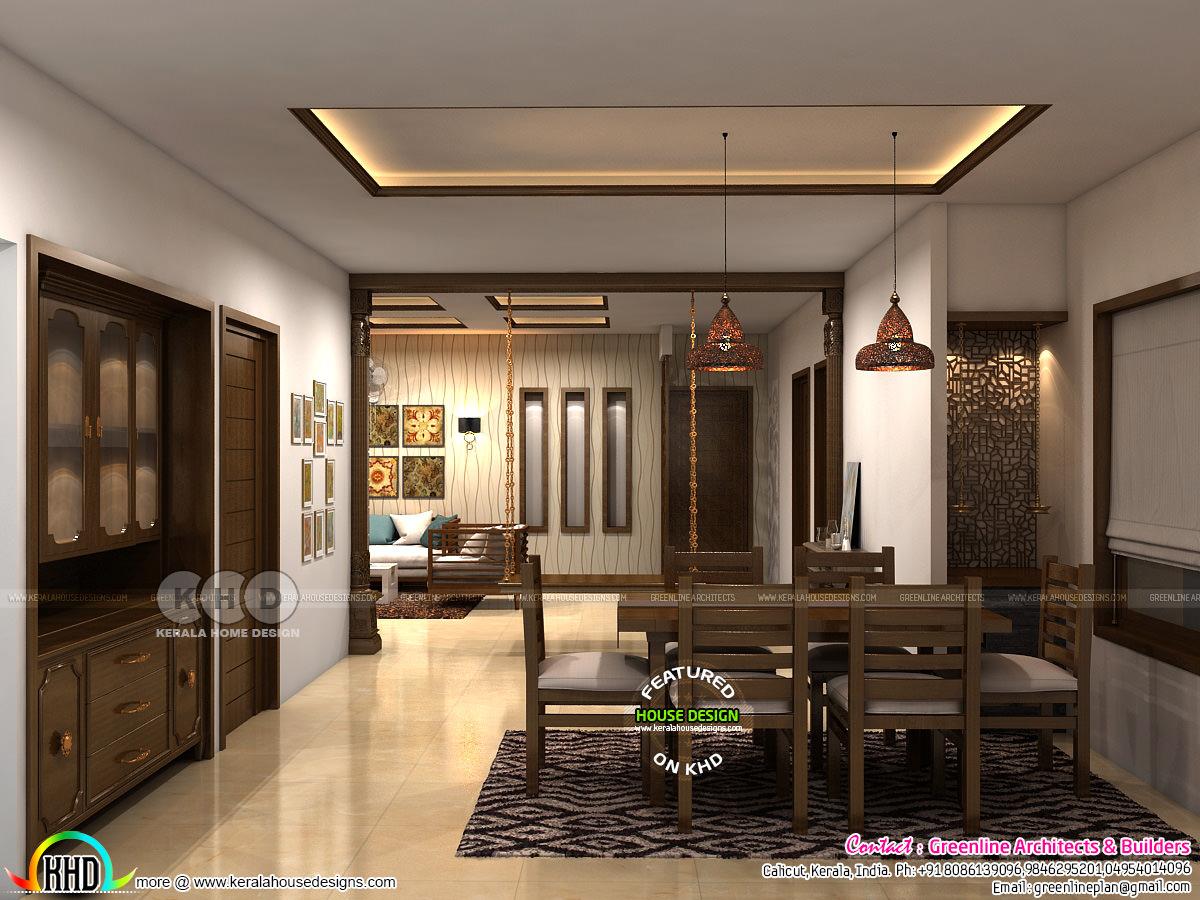 Modern interior designs of 2018 - Kerala home design and ...