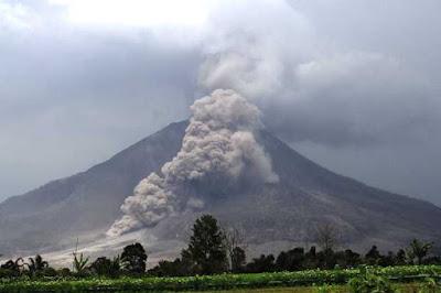 6 Bentuk Gunung Api Menurut Pembentukannya