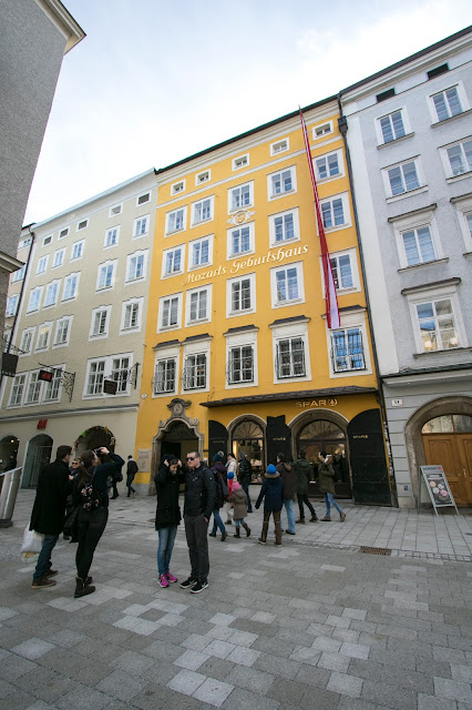 Casa natale di Mozart-Salisburgo