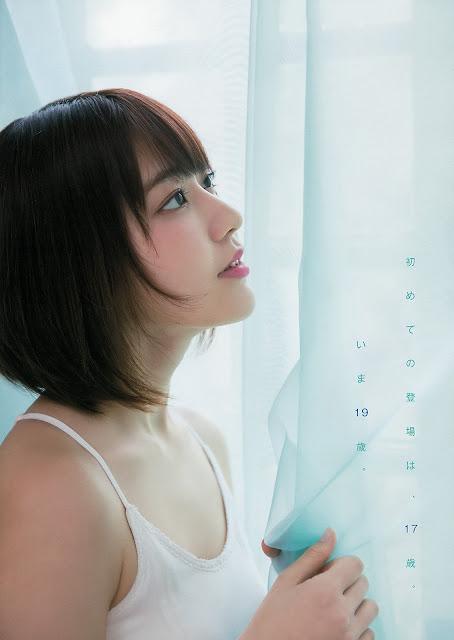 HKT48 Miyawaki Sakura Gravure YAM 009