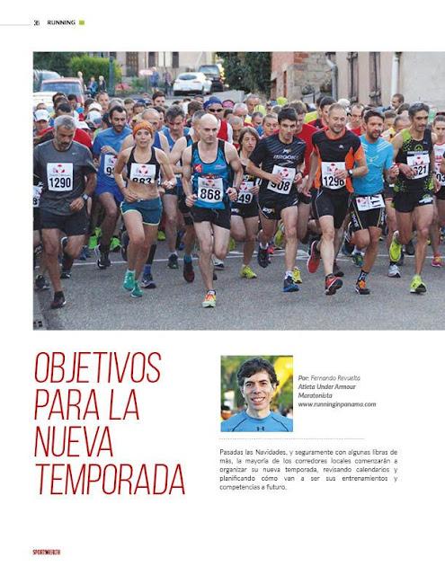 Objetivos Temporada Correr