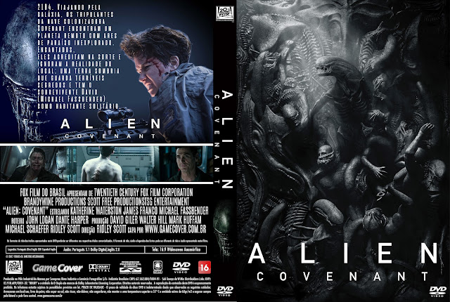 Capa DVD Alien Covenant [Exclusiva]