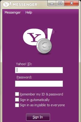yahoo messenger 2013 01net