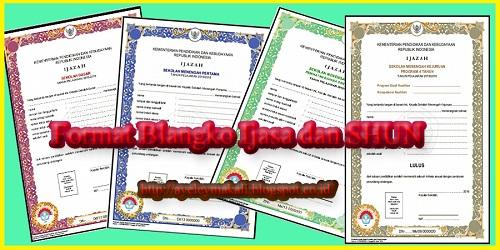 Download Gratis Format Blangko Ijzah dan SHUN