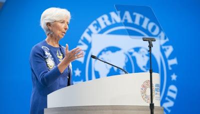Глава МВФ предупредила о риске сильного удара по мировой экономике