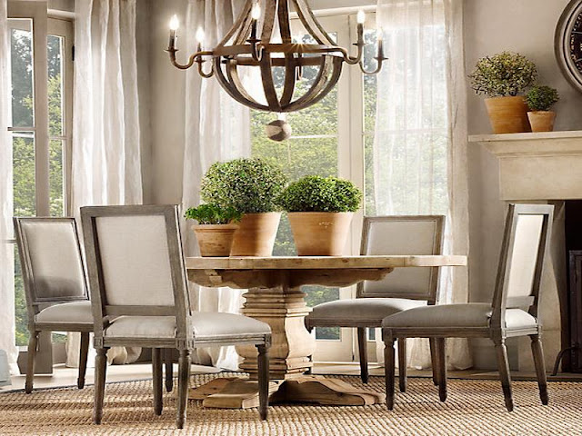 Round Kitchen Tables with Feng Shui touch Round Kitchen Tables with Feng Shui touch Natural Wooden Round Dining Table with Flowerspot and Chandelier