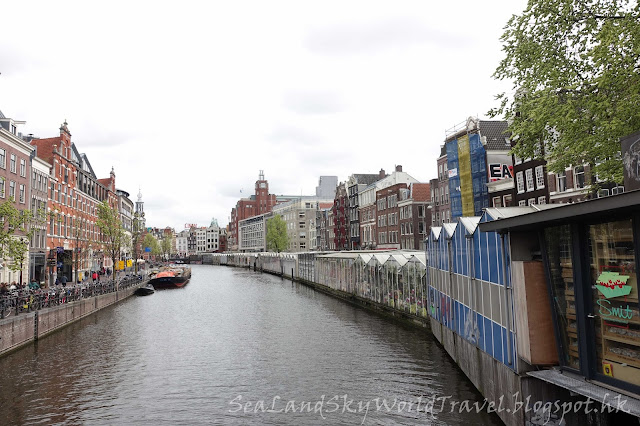 荷蘭, Bloemenmarkt, flowers market, 花市場, 阿姆斯特丹, amsterdam, holland, netherlands