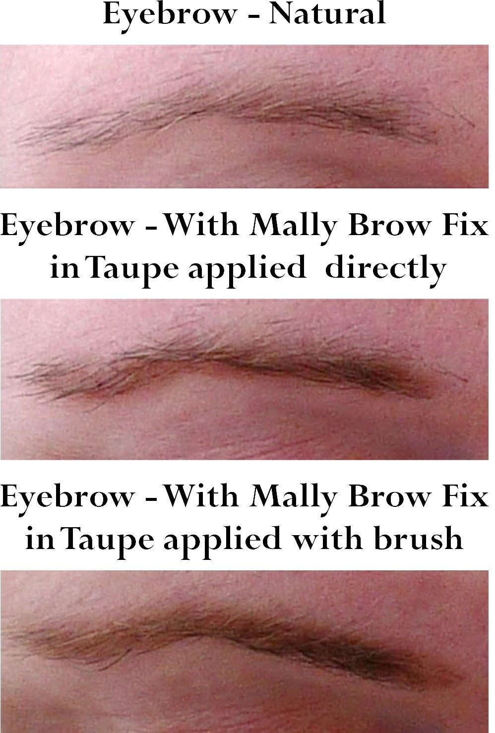 Mally Brow Fix Review & Application