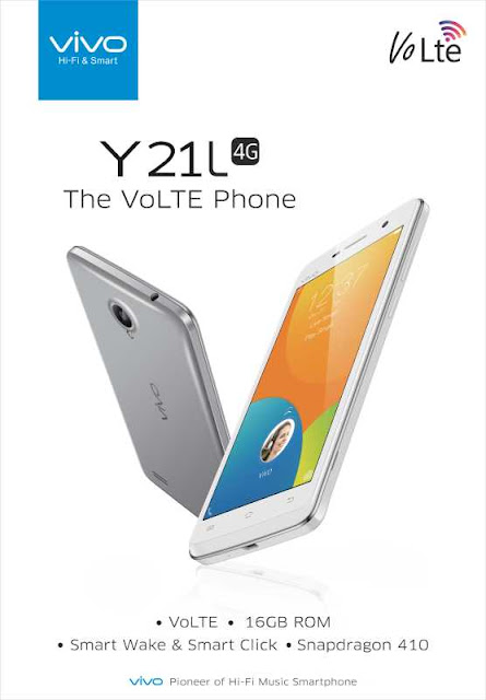 Vivo launches 4G VoLTE enabled Y21L in India at Rs. 7,490/-