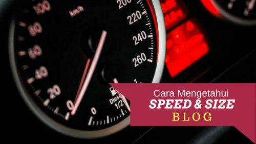 Speed and Blog Page Size