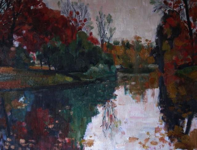 Пейзажи в изобразительном искусстве. Imma Banet Illa 22