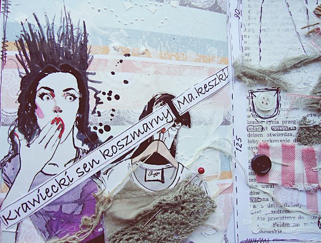 art-journal, journaling, kolage