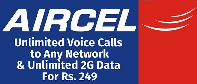 Aircel offers unlimited Free Voice calls at Rs 14 Only