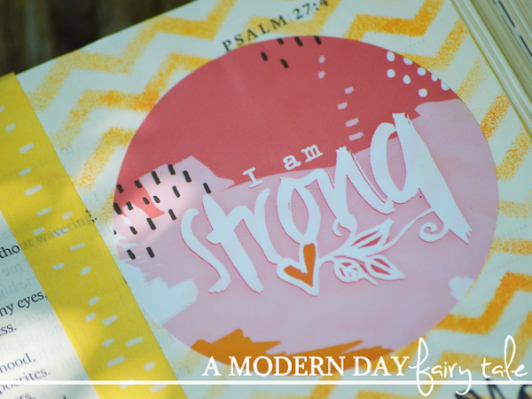 Finding Strength in God {Journaling Through Illustrated Faith's I Am Strong Monthly Devotional Kit} #IllustratedFaith #DaySpring  #IF_IAmStrong  #Biblejournaling
