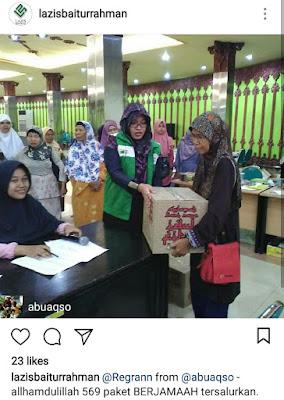 Menjadi Duta Zakat dan Donatur di Lazis Baiturrahman Semarang