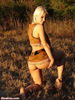 Indian Squaw - Alisa Kiss- hot pics