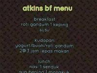 Breastfeeding Atkins Diet Menu