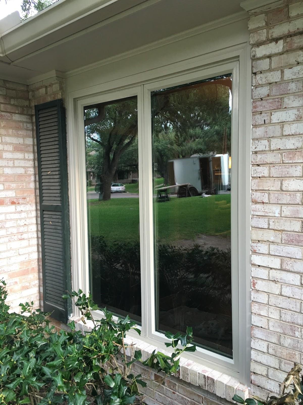 Casement Bow Window : Dallas windows the window connection vinyl replacement