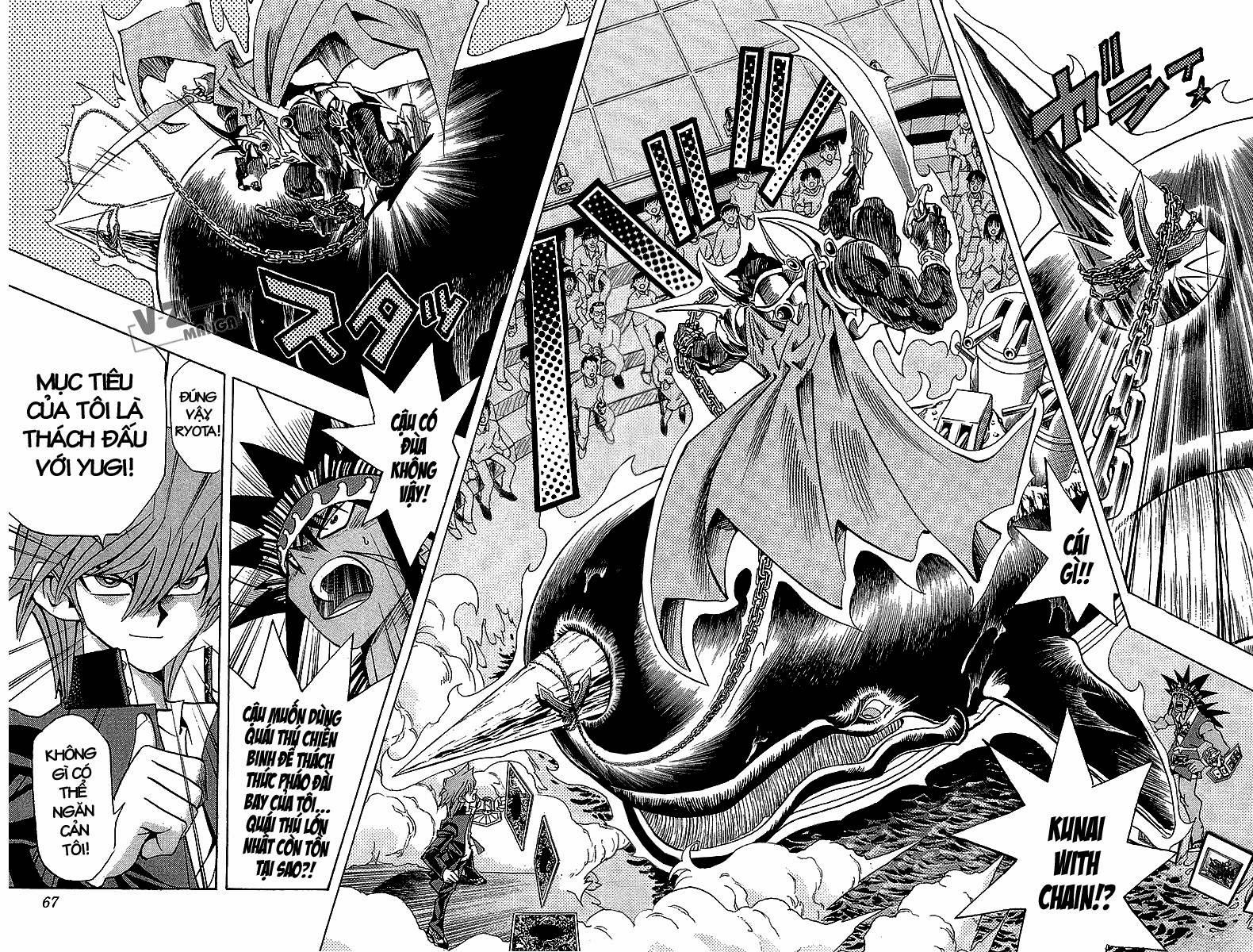YUGI-OH! chap 181: chinh phục biển cả!! trang 19
