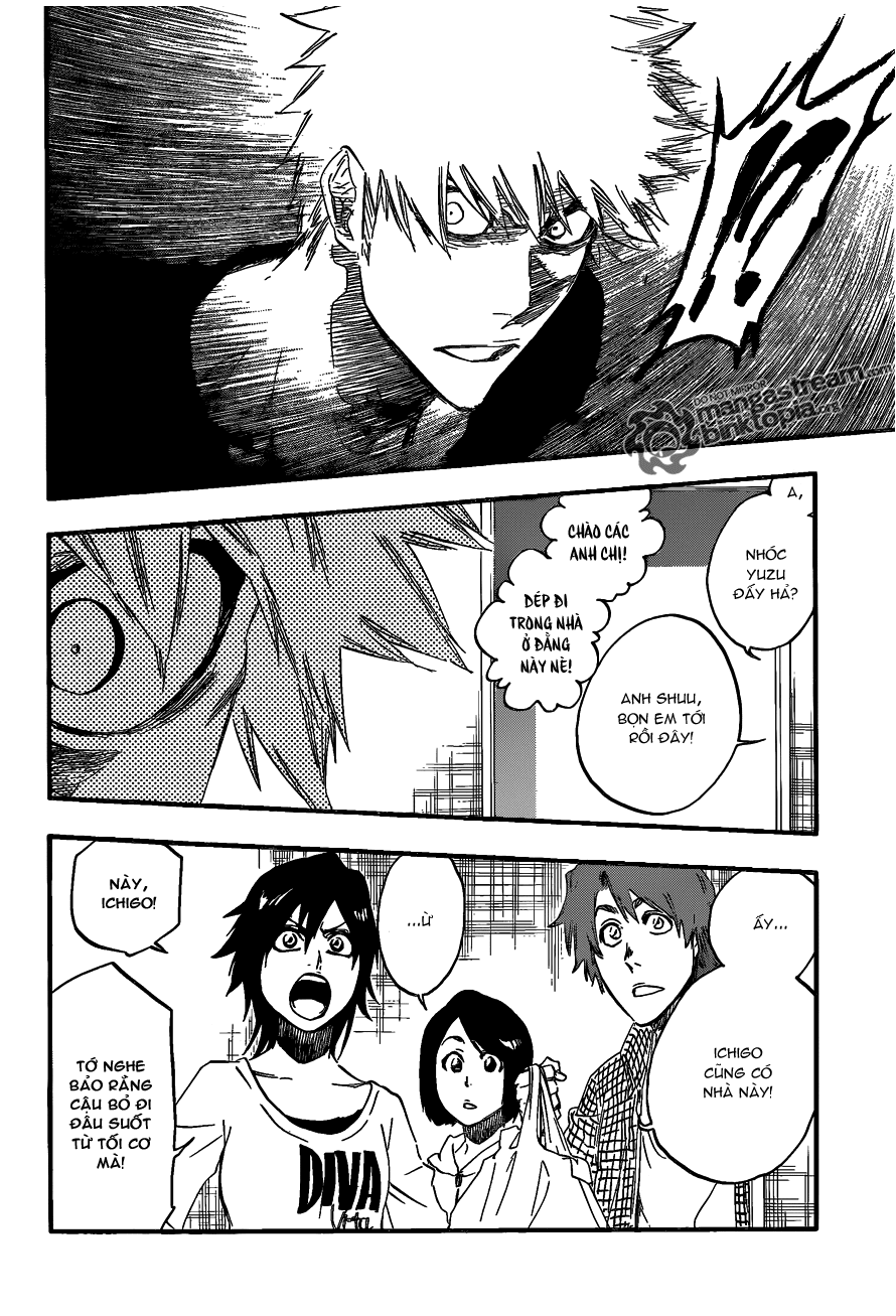 Bleach chapter 454 trang 6