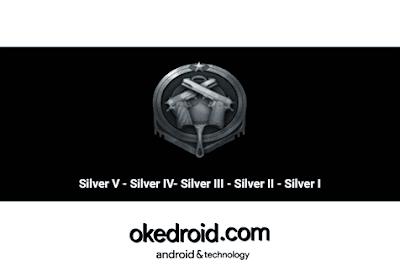 Pangkat Rank Silver PUBG Mobile