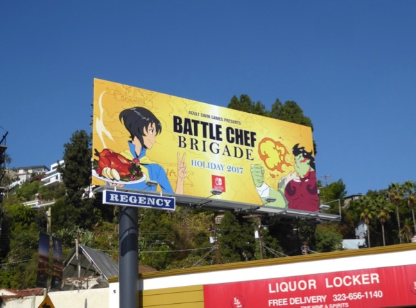 Battle Chef Brigade game billboard