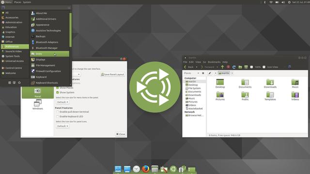أفضل توزيعة للأجهزة القديمة Ubuntu MATE