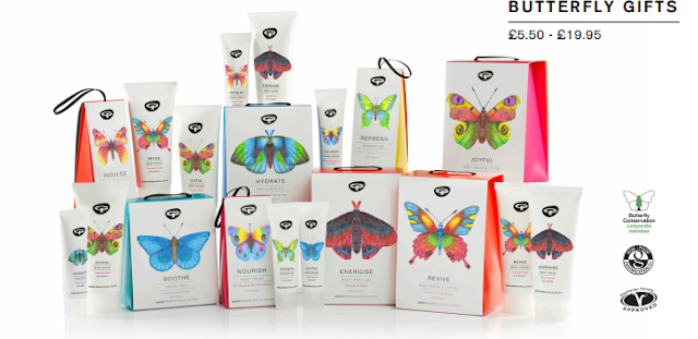 Green People Be part of the Butterfly effect Christmas Gift Sets