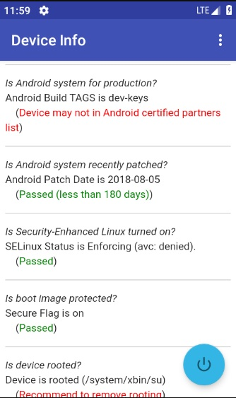 Android App, Android Development and Security Advisory: October 2018