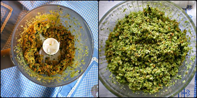 Espaguetis con pesto de brócoli y limón:  Pesto
