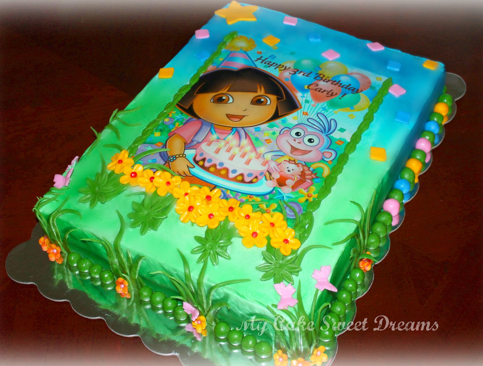 My Cake Sweet Dreams Dora Birthday Cake