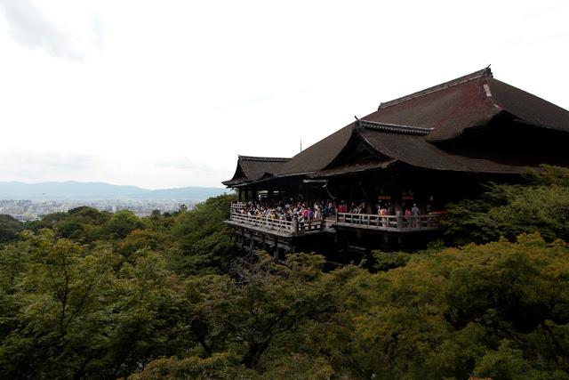 Templo Kiyomizudera de Kioto