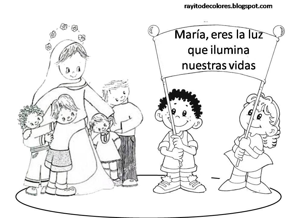 María, eres la luz que ilumina nuestras vidas