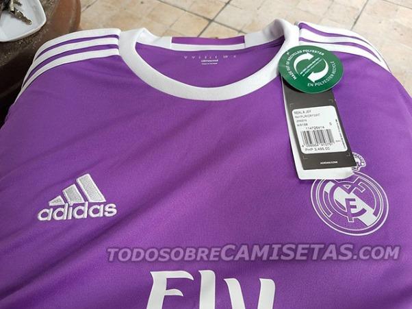 Adelanto de la Segunda Camiseta Adidas del Real Madrid 2016 2017 ... dd5ef1ac059