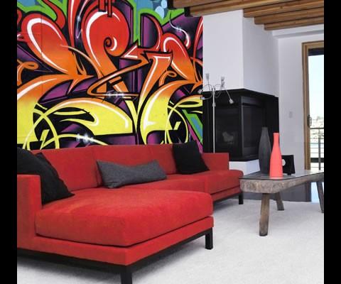 braxton and yancey: Graffiti Décor - Street Art in Home ...