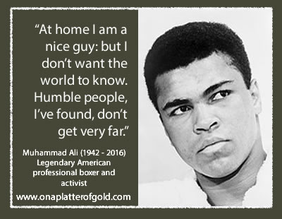 Muhammed Ali quotes