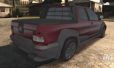 Download mod carro Pickup truck Fiat Strada Adventure 2012 para o jogo GTA San Andreas