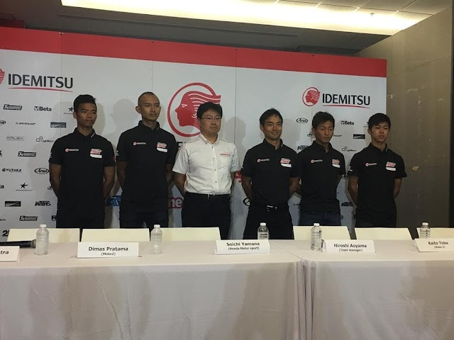 Mantab... Dimas Ekky Akan Berlaga Semusim Penuh di Moto2 2019