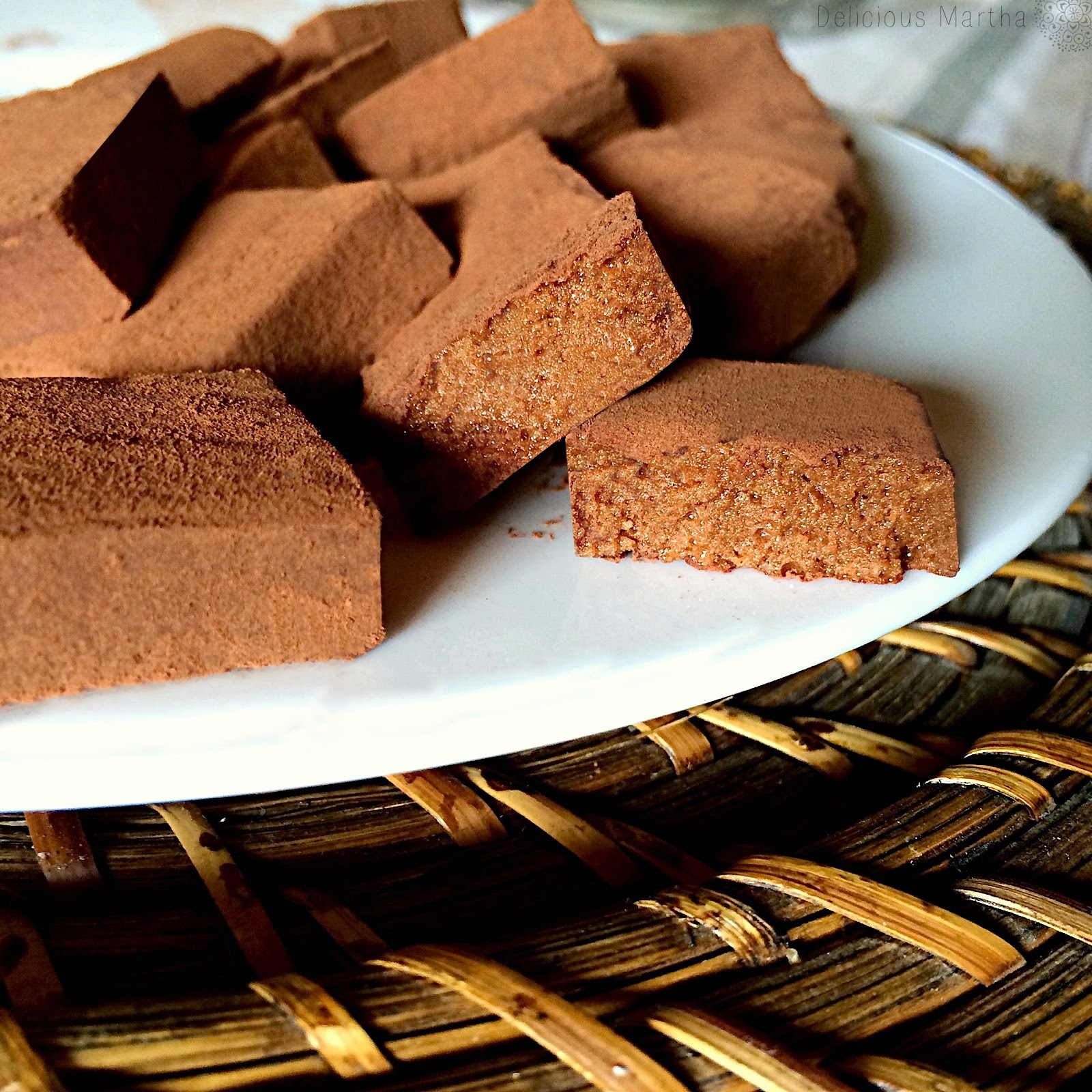 Marshmallows de chocolate