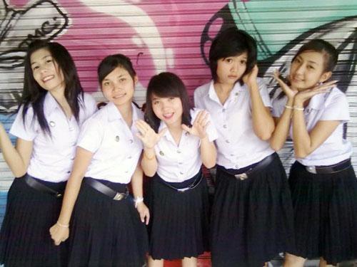 Thai School Girl Uniform - Asia Get Amazing-7950