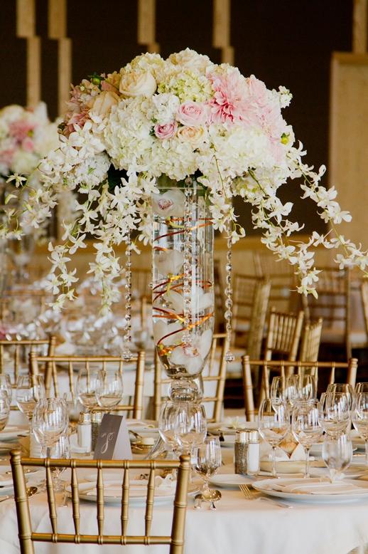 A Four Seasons Hotel Wedding in Blush and Cream  Flora