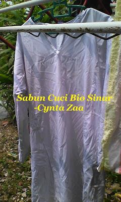 Sabun Bio Sinar Memutihkan Baju