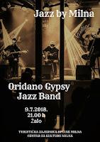 Oridano Gypsy Jazz Band - Milna slike otok Brač Online