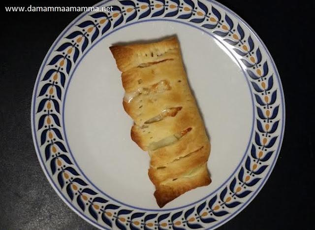 Strudel con patate, speck e scamorza