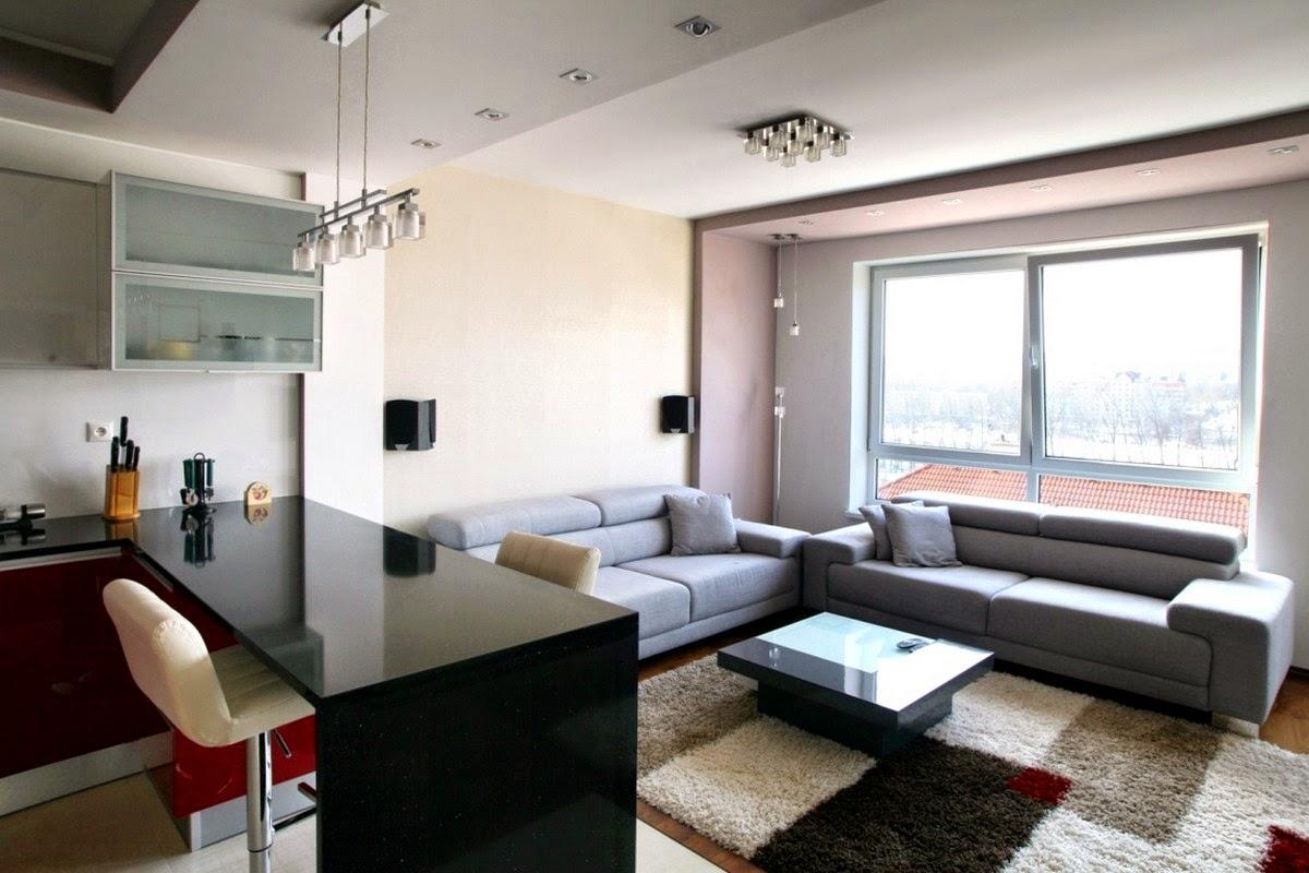 Idee appartamento con soggiorno angolo cottura for Idee ambiente