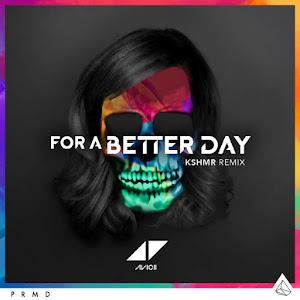 Avicii - For a Better Day (KSHMR Remix) - Single Cover